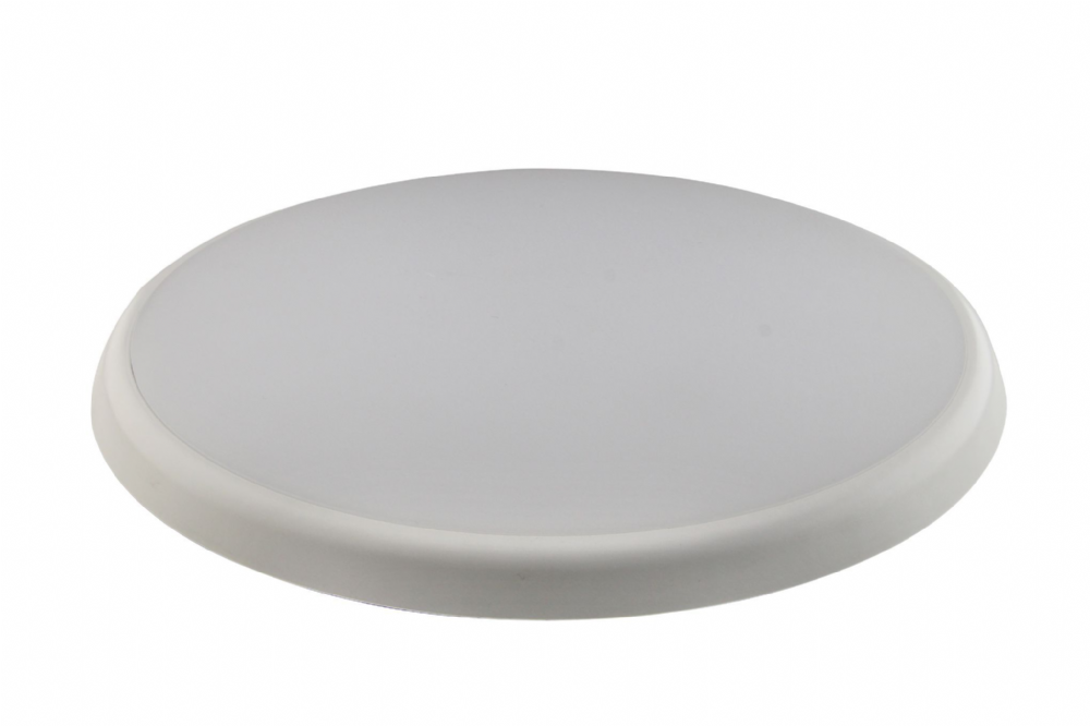 Bell Lighting 06751 25W DecoSlim LED Bulkhead - Microwave Sensor & Emergency, 4000K